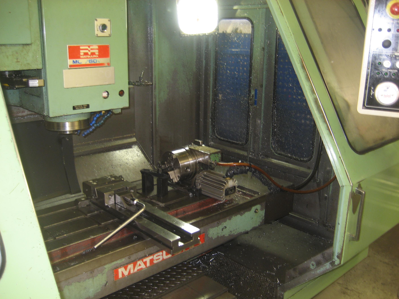 Matsuura MC-760VX med 4 axel